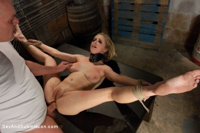 Photo number 13 from Peeping Tom gets Revenge on Busty Blonde shot for Sex And Submission on Kink.com. Featuring Mark Davis and Penny Pax in hardcore BDSM & Fetish porn.
