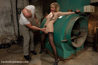 Photo number 5 from Peeping Tom gets Revenge on Busty Blonde shot for Sex And Submission on Kink.com. Featuring Mark Davis and Penny Pax in hardcore BDSM & Fetish porn.