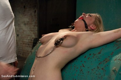 Photo number 6 from Peeping Tom gets Revenge on Busty Blonde shot for Sex And Submission on Kink.com. Featuring Mark Davis and Penny Pax in hardcore BDSM & Fetish porn.