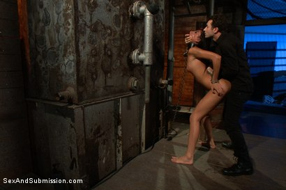 Photo number 5 from I am a Sex Slave shot for Sex And Submission on Kink.com. Featuring James Deen and Cassandra Nix in hardcore BDSM & Fetish porn.