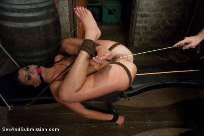 Photo number 7 from I am a Sex Slave shot for Sex And Submission on Kink.com. Featuring James Deen and Cassandra Nix in hardcore BDSM & Fetish porn.