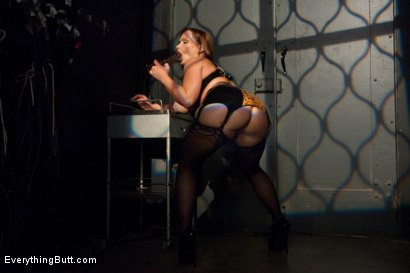 Photo number 2 from Glorious German Butthole shot for Everything Butt on Kink.com. Featuring Bobbi Starr, Mark Davis and Katja Kassin in hardcore BDSM & Fetish porn.