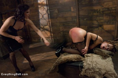 Photo number 4 from Glorious German Butthole shot for Everything Butt on Kink.com. Featuring Bobbi Starr, Mark Davis and Katja Kassin in hardcore BDSM & Fetish porn.