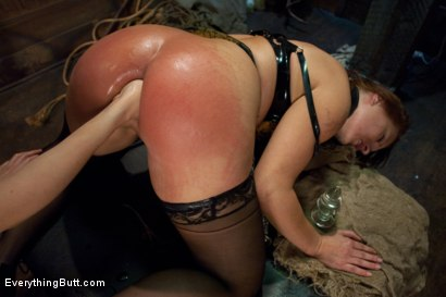 Photo number 6 from Glorious German Butthole shot for Everything Butt on Kink.com. Featuring Bobbi Starr, Mark Davis and Katja Kassin in hardcore BDSM & Fetish porn.