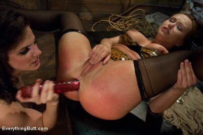 Photo number 7 from Glorious German Butthole shot for Everything Butt on Kink.com. Featuring Bobbi Starr, Mark Davis and Katja Kassin in hardcore BDSM & Fetish porn.