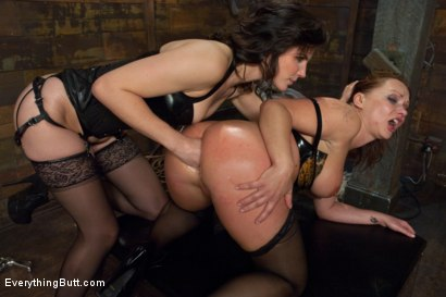 Photo number 9 from Glorious German Butthole shot for Everything Butt on Kink.com. Featuring Bobbi Starr, Mark Davis and Katja Kassin in hardcore BDSM & Fetish porn.