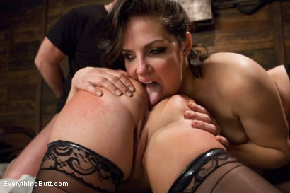 Photo number 14 from Glorious German Butthole shot for Everything Butt on Kink.com. Featuring Bobbi Starr, Mark Davis and Katja Kassin in hardcore BDSM & Fetish porn.