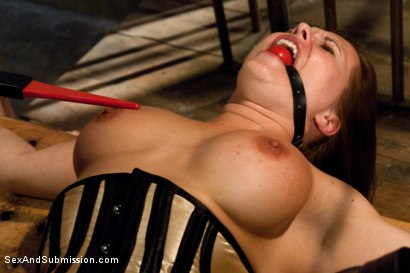 Photo number 5 from Slave Wife gets Double Stuffed in Bondage shot for Sex And Submission on Kink.com. Featuring Katja Kassin, Mark Davis and Steve Holmes in hardcore BDSM & Fetish porn.