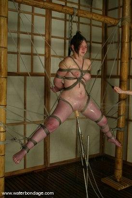 Photo number 3 from Ginger shot for Water Bondage on Kink.com. Featuring Ginger in hardcore BDSM & Fetish porn.