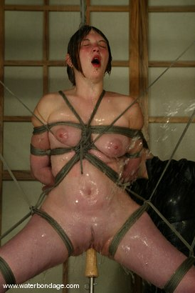 Photo number 4 from Ginger shot for Water Bondage on Kink.com. Featuring Ginger in hardcore BDSM & Fetish porn.