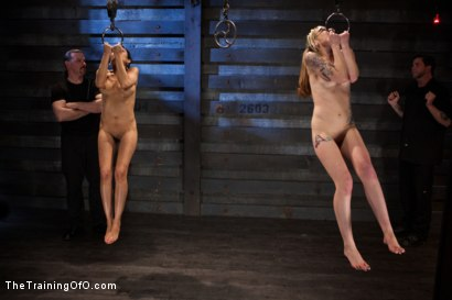 Photo number 9 from Seven Slave Intake<br>Extreme Bondage, Exhausting Exercise, & Overwhelming Orgasms Expose the Weak shot for The Training Of O on Kink.com. Featuring Beretta James, Emii Ebi, Oliver Hyde, Kay Kardia, Pixie  , Melanie Lucci, Sahara Rain and Maestro Stefanos in hardcore BDSM & Fetish porn.