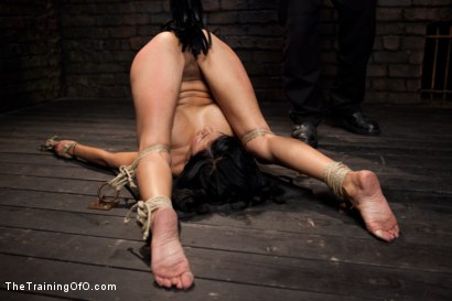 Photo number 14 from Slave Training Beretta James<br>Day 4 shot for The Training Of O on Kink.com. Featuring Beretta James in hardcore BDSM & Fetish porn.