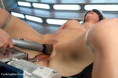Photo number 7 from Debuting of the Sexiest Damsel in Distress Blonde: Machine and Mind Fucked shot for Fucking Machines on Kink.com. Featuring Jagger Jordan in hardcore BDSM & Fetish porn.