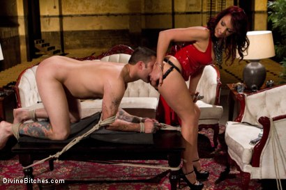Photo number 13 from Red Hot Wet Tease shot for Divine Bitches on Kink.com. Featuring Michael Bridalveil and Nicki Hunter in hardcore BDSM & Fetish porn.
