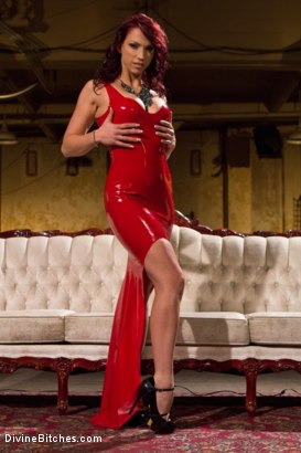 Photo number 1 from Red Hot Wet Tease shot for Divine Bitches on Kink.com. Featuring Michael Bridalveil and Nicki Hunter in hardcore BDSM & Fetish porn.