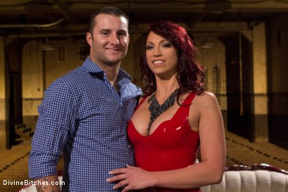 Photo number 2 from Red Hot Wet Tease shot for Divine Bitches on Kink.com. Featuring Michael Bridalveil and Nicki Hunter in hardcore BDSM & Fetish porn.