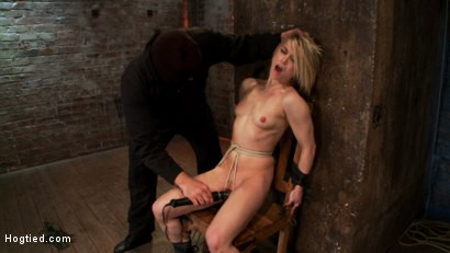 Photo number 11 from Severely gagged, flogged, clamped, a crotch rope arching her back with devastating multiple orgasms! shot for Hogtied on Kink.com. Featuring Ash Hollywood in hardcore BDSM & Fetish porn.