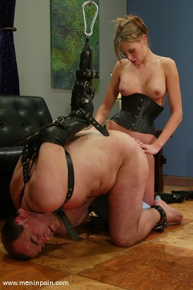 Photo number 5 from Audrey Leigh and Bigdick painslut shot for Men In Pain on Kink.com. Featuring Audrey Leigh and Bigdick painslut in hardcore BDSM & Fetish porn.