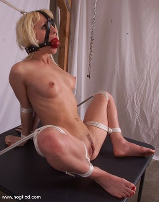 Photo number 4 from Crissy Sparks shot for Hogtied on Kink.com. Featuring Crissy Sparks in hardcore BDSM & Fetish porn.