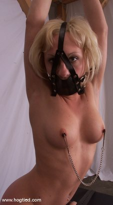 Photo number 9 from Crissy Sparks shot for Hogtied on Kink.com. Featuring Crissy Sparks in hardcore BDSM & Fetish porn.