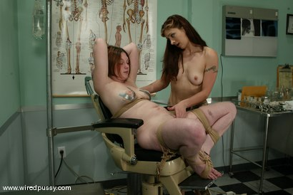 Photo number 13 from Ginger and Carly shot for Wired Pussy on Kink.com. Featuring Ginger and Carly in hardcore BDSM & Fetish porn.
