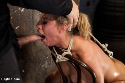 Photo number 10 from Huge tits, perfect ass, nipples tortured, skull brutally fucked, ass hooked, made to cum over & over shot for Hogtied on Kink.com. Featuring Charisma Cappelli in hardcore BDSM & Fetish porn.