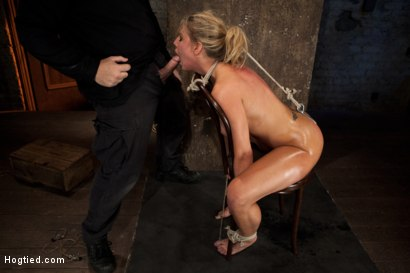 Photo number 12 from Huge tits, perfect ass, nipples tortured, skull brutally fucked, ass hooked, made to cum over & over shot for Hogtied on Kink.com. Featuring Charisma Cappelli in hardcore BDSM & Fetish porn.