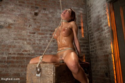 Photo number 11 from 1 of Porns Hottest Bodies steps into the dark world of BDSM. Someone stepped into the wrong basement shot for Hogtied on Kink.com. Featuring Aleksa Nicole in hardcore BDSM & Fetish porn.