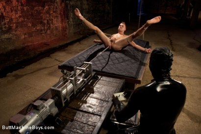 Photo number 5 from Sebastian Keys endures extreme fucking machines shot for Butt Machine Boys on Kink.com. Featuring Sebastian Keys in hardcore BDSM & Fetish porn.