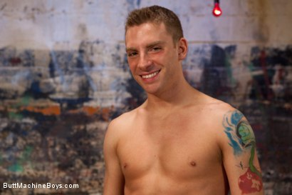 Photo number 15 from Sebastian Keys endures extreme fucking machines shot for Butt Machine Boys on Kink.com. Featuring Sebastian Keys in hardcore BDSM & Fetish porn.
