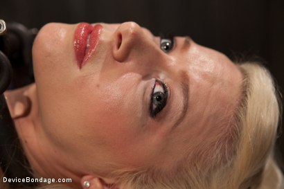 Photo number 4 from Hot Blonde Anikka Albright's FIRST BONDAGE SHOOT EVER! shot for Device Bondage on Kink.com. Featuring Anikka Albrite in hardcore BDSM & Fetish porn.
