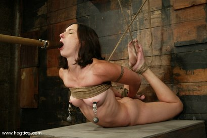 Photo number 14 from Wenona shot for Hogtied on Kink.com. Featuring Wenona in hardcore BDSM & Fetish porn.