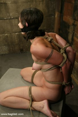 Photo number 4 from Wenona shot for Hogtied on Kink.com. Featuring Wenona in hardcore BDSM & Fetish porn.