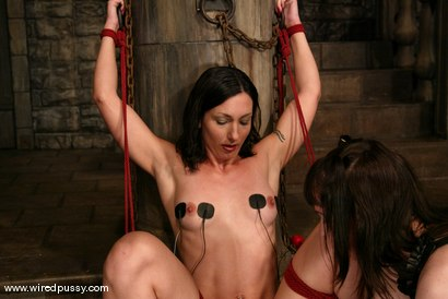 Photo number 15 from Wenona and Dia Bind shot for Wired Pussy on Kink.com. Featuring Wenona and Dia Bind in hardcore BDSM & Fetish porn.