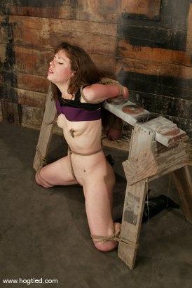 Photo number 3 from Rhonda shot for Hogtied on Kink.com. Featuring Rhonda in hardcore BDSM & Fetish porn.