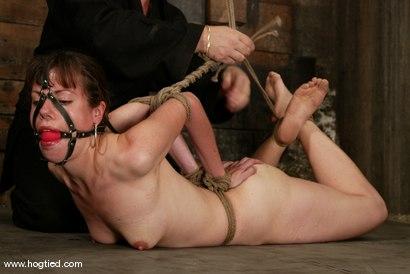 Photo number 8 from Rhonda shot for Hogtied on Kink.com. Featuring Rhonda in hardcore BDSM & Fetish porn.