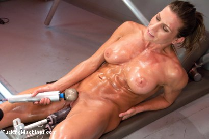 Photo number 15 from Muscly Weightlifter Babe Machine Fucked in Her Pussy and Ass shot for Fucking Machines on Kink.com. Featuring Ariel X in hardcore BDSM & Fetish porn.