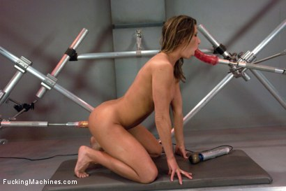 Photo number 8 from Muscly Weightlifter Babe Machine Fucked in Her Pussy and Ass shot for Fucking Machines on Kink.com. Featuring Ariel X in hardcore BDSM & Fetish porn.