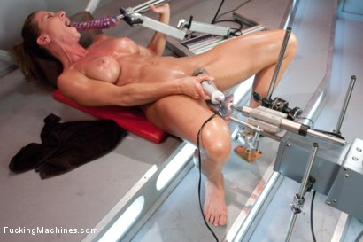 Photo number 10 from Bringing in The Big Guns: Ariel Xtra shot for Fucking Machines on Kink.com. Featuring Ariel X in hardcore BDSM & Fetish porn.