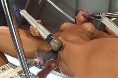 Photo number 6 from Bringing in The Big Guns: Ariel Xtra shot for Fucking Machines on Kink.com. Featuring Ariel X in hardcore BDSM & Fetish porn.