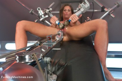 Photo number 9 from Bringing in The Big Guns: Ariel Xtra shot for Fucking Machines on Kink.com. Featuring Ariel X in hardcore BDSM & Fetish porn.