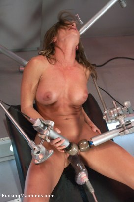 Photo number 3 from Bringing in The Big Guns: Ariel Xtra shot for Fucking Machines on Kink.com. Featuring Ariel X in hardcore BDSM & Fetish porn.