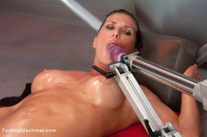 Photo number 7 from Bringing in The Big Guns: Ariel Xtra shot for Fucking Machines on Kink.com. Featuring Ariel X in hardcore BDSM & Fetish porn.
