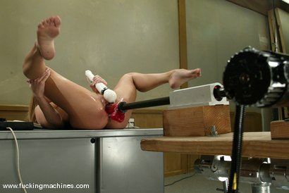 Photo number 5 from Kylie Wilde shot for Fucking Machines on Kink.com. Featuring Kylie Wilde in hardcore BDSM & Fetish porn.