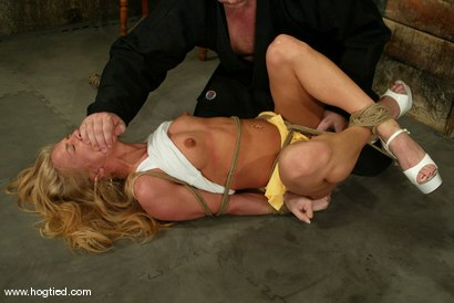Photo number 3 from Kylie Wilde shot for Hogtied on Kink.com. Featuring Kylie Wilde in hardcore BDSM & Fetish porn.