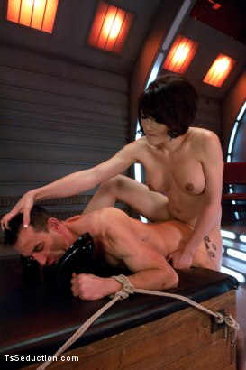 Photo number 7 from Eva Lin's Fancy: You Will Give Yourself to Her shot for TS Seduction on Kink.com. Featuring Eva Lin and Jason Miller in hardcore BDSM & Fetish porn.