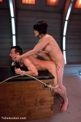 Photo number 12 from Eva Lin's Fancy: You Will Give Yourself to Her shot for TS Seduction on Kink.com. Featuring Eva Lin and Jason Miller in hardcore BDSM & Fetish porn.