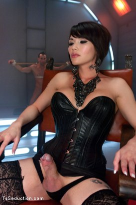 Photo number 1 from Eva Lin's Fancy: You Will Give Yourself to Her shot for TS Seduction on Kink.com. Featuring Eva Lin and Jason Miller in hardcore BDSM & Fetish porn.