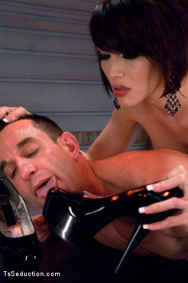 Photo number 6 from Eva Lin's Fancy: You Will Give Yourself to Her shot for TS Seduction on Kink.com. Featuring Eva Lin and Jason Miller in hardcore BDSM & Fetish porn.