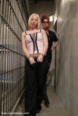 Crystal Frost and Kym Wilde